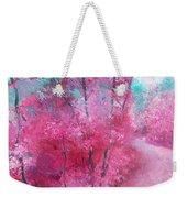 Pink Landscape Weekender Tote Bag