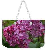 Pink Lilacs Weekender Tote Bag