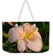 Pink Lily At Sunset 1 Weekender Tote Bag
