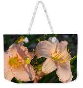 Pink Lily At Sunset 2 Weekender Tote Bag
