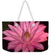 Pink Lily Flower Weekender Tote Bag