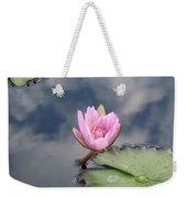 Pink Lily Monet Weekender Tote Bag
