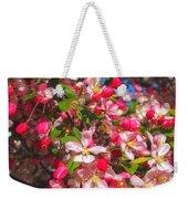 Pink Magnolia 2 Weekender Tote Bag