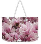 Pink Magnolia Blossoms Washington Dc Weekender Tote Bag
