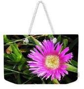 Pink Mesembryanthemum  Weekender Tote Bag