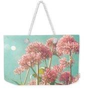 Pink Milkweed Weekender Tote Bag