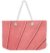 Pink Moleskin Weekender Tote Bag