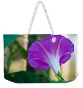 Pink Morning Glory Weekender Tote Bag