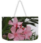 Pink Oleander 4 Weekender Tote Bag