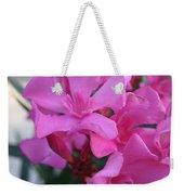 Pink Oleander Bunch Weekender Tote Bag