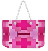 Pink On Pink 2 Weekender Tote Bag