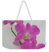 Pink Orchids 1 Weekender Tote Bag