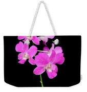 Pink Orchids 9 Weekender Tote Bag