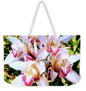 Pink Spirit Orchids Palm Springs Weekender Tote Bag
