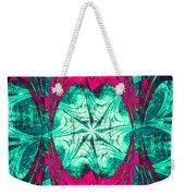 Pink Overlay Weekender Tote Bag