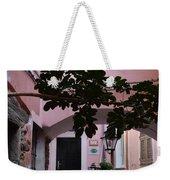 Pink Patio Weekender Tote Bag