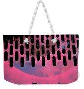 Pink Perfed Weekender Tote Bag