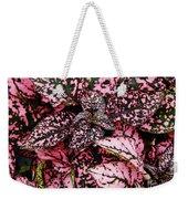 Pink - Plant - Petals Weekender Tote Bag