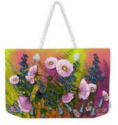 Pink Pleasure Weekender Tote Bag