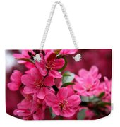 Pink Plum Blossoms Weekender Tote Bag