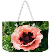 Pink Poppy Bloom Weekender Tote Bag
