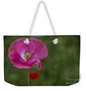 Pink Poppy. Weekender Tote Bag