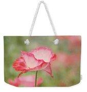 Pink Poppy Weekender Tote Bag