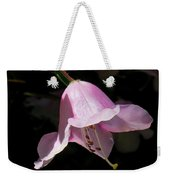 Pink Rhododendron Blossom Weekender Tote Bag