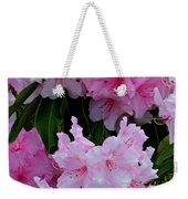 Pink Rhododendrons Weekender Tote Bag
