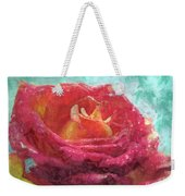 Pink Rose - Digital Paint II Weekender Tote Bag