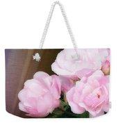 Pink Rose Cluster Weekender Tote Bag