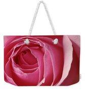 Pink Rose Dof Weekender Tote Bag
