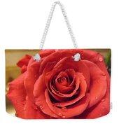 Pink Rose Drops Weekender Tote Bag