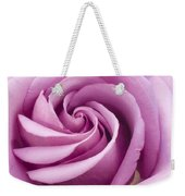 Pink Rose Folded To Perfection Weekender Tote Bag