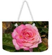 Pink Rose Full Bloom Weekender Tote Bag