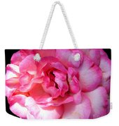 Rose With Touch Of Pink Weekender Tote Bag