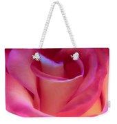 Pink Rose Pedals Weekender Tote Bag