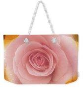 Pink Rose Romance  Weekender Tote Bag