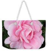 Pink Rose Square Weekender Tote Bag