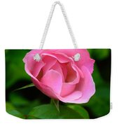 Pink Rose Volunteer Weekender Tote Bag