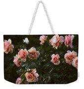 Flowers - Pink Roses Weekender Tote Bag