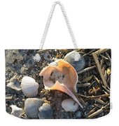 Pink Shell Bowl Weekender Tote Bag