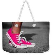 Pink Sneakers  Weekender Tote Bag