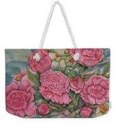 Pink Splendor Weekender Tote Bag