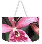 Pink Spotted Cattleya Orchids Weekender Tote Bag