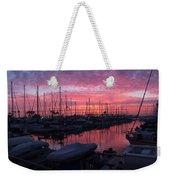 Pink Summer Sunset  Weekender Tote Bag