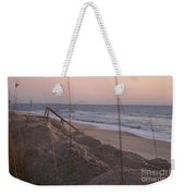 Pink Sunrise On The Beach Weekender Tote Bag