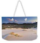 Pink Sunset At The Desert Weekender Tote Bag