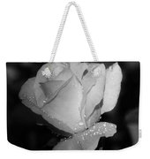 Pink Tea Rose 02 - Infrared Weekender Tote Bag
