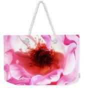 Pink Tourmaline Palm Springs Weekender Tote Bag